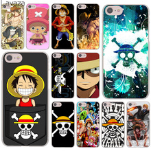 Lavaza One Piece Luffy Anime Hard Cover Case for Apple iPhone 8 7 6 6S Plus 5 5S SE 5C 4 4S X 10 Coque Shell(China)