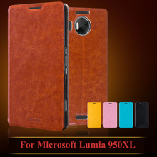 For Microsoft Lumia 950 XL Case Cover Flip PU Leather Stand Case For Microsoft Lumia 950 XL Book Style Cell Phone Bag