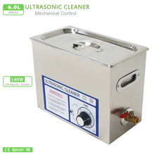 220V Ultrasonic cleaner 6L PS-30T 180W 40KHz PS-30T 110V Timer Stainless Tank Bath Electronic Surgical Parts Cleaning machine