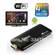 Rikomagic Iptv MK802 IV RK3188 Quad Core Android 4.2.2 Mini PC 2G ROM 8G Rom HDMI 1080P Wifi Iptv Stick(China)