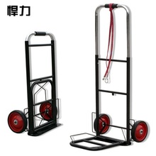 Tightly Loaded Foldable Portable Luggage Cart Trolley Car Buy Carriage Cart Small Trailer Trolley(China)