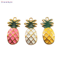Buy GraceAngie 6PCS DIY Charms Pendants Fruit Pineapple Style Zinc Alloy Necklace Bracelet Decorate Handmade Jewelry Findings for $1.43 in AliExpress store