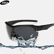 VEGA Men Sports Sunglasses Polarized Road Mountain Biker Glasses UV400 Lager Frame 816