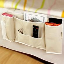 Hot Sale Sofa Bedside Bed Pocket Bed Organizer Hanging Bag Deskside Phone Holder Storage Bag