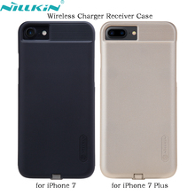 For iPhone 7 Plus 7Plus Wireless Charger Receiver Case NILLKIN QI Quality PC Frosted Back Cover Power Charging Cases for iPhone7