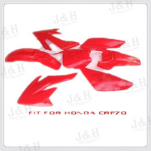 New PP Fit CRF70 Plastic covers Free Shipping Plastic kits Fairing Pit Bike Procket Bike Xmotos Baja DR50 49 50cc 70 New PP red