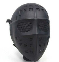 Full Face Hockey Type Airsoft Mesh Goggle Mask black  A-TACS CAMO MARPAT DESERT