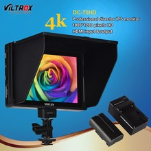 Buy Viltrox DC-70HD 4K Clip-on 7'' HD IPS LCD Camera Video Monitor Display 1920x1200 HDMI AV Input Canon Nikon Pentax BMPCC for $141.31 in AliExpress store