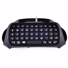 Wireless Bluetooth Keyboard Keypad Chatpad For Game 4 Controller PS4 PlayStation - L060 New hot
