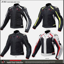komine jk 063 's top titanium alloy automobile race motorcycle jacket ride service popular brands clothing