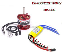 30A Brushless ESC Speed Controller + EMAX CF2822 1200KV Brushless Motor