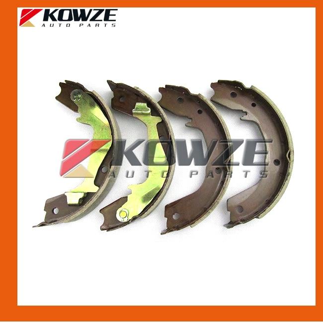 Rear Brake Shoes Set For Mitsubishi Pajero V73 V93 6G72 V75 6G74 V78 4M41 V87 6G75 MN150861 MN186248 (2)