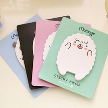 Mini Stickers Sticky Note For Diary Things Memo Pad 1 Pics Cute Animal Sheep Panda Memo Pads Girls Stationery Gifts(China)