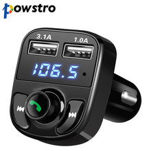 DC 12-24V Car Kit Bluetooth MP3 Player Hands-free Call Wireless FM Transmitter Modulator with 5V 4.1A Dual USB TF Slot Voltage(China)