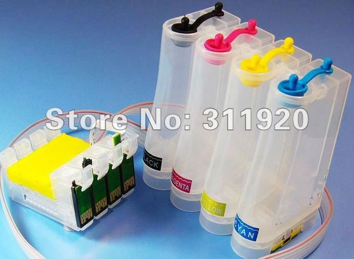 T1291 Continuous Ink Supply System for Epson T1291 - T1294 CISS for Epson Stylus SX230 SX235W SX420W SX425W SX430W SX435W SX440W<br><br>Aliexpress