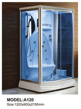 Modern Tempered Glass Shower Enclosures Room Furniture