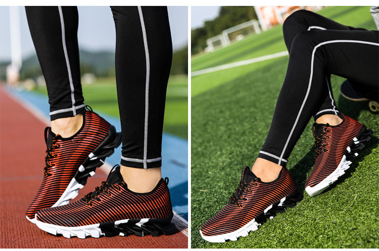 17New Hot Light Running Shoes For Men Breathable Outdoor Sport Shoes Summer Cushioning Male Shockproof Sole Athletic Sneakers 20