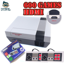 Mini TV Family Game Console HDMI 8 Bit Retro Video Game Console Built-In 600 No Repeat Game Handheld Gaming Player Children Gift