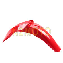 Supermoto Red Motorcycles Motocross Front Fender Mudguard Mud Cover for Honda CRF450R CRF250R 2009-2013 Red