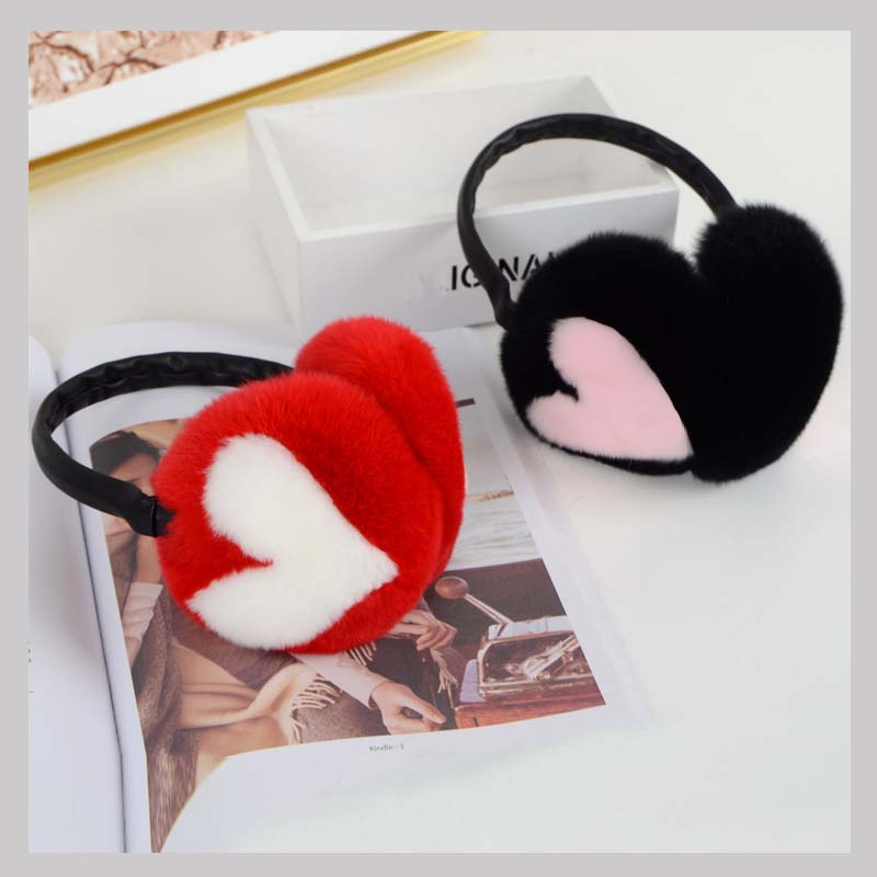 rex rabbit fur earmuff 3