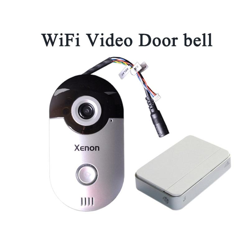 Xenon Doorbell Wi-Fi doorbell wireless Video intercom doorbells with camera switch 12V video receiver security smart bell ring<br><br>Aliexpress
