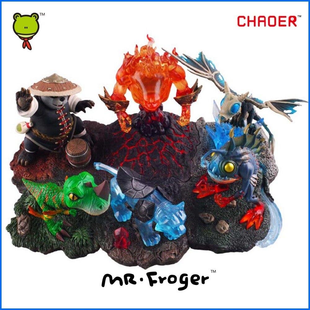 Mr.Froger Pet Model Figure Pandaren Monk Spectral Tiger Raptor Pet Fire Elemental Frost Wyrm pet Action Figures Classic Toys<br><br>Aliexpress