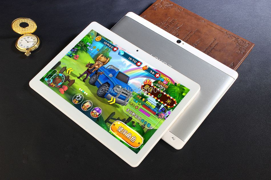 2017 Newest 128GB ROM Tablet 10 inch 3G 4G LTE GPS WIFI Phone Call Tablet 8 cores 1920*1200 IPS Screen Free shipping