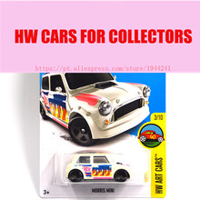 Hot Sale 2016 New Hot Wheels 1:64 Morris Mini car Models Metal Diecast Car Collection Kids Toys Vehicle  Juguetes