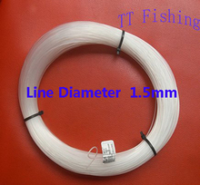 Dia.1.5mm 340m FLUOROCARBON FISHING LINE Long-Line Fishing Main Line Enjoy Retail Convenience at Wholesale Price(China)