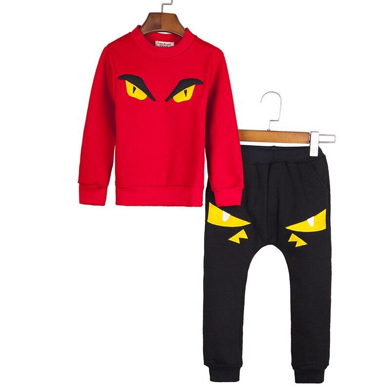 Cartoon Boys Children Set Monster Pattern Cotton Boys Winter Clothes Fleece Super Colour Sweatshirts Pullover Kids Boy Clothes<br><br>Aliexpress
