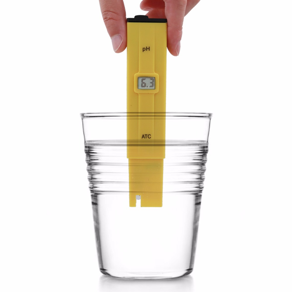 by dhl/fedex 100pcs/lot Portable Pen Water PH Meter Tester for Aquarium Pool Water Quality Laboratory with retail box % off 10