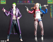 "6"" Crazy Toys Joker Harley Quinn cane gun Suicide Squad Figma batman deadpool aliens naruto PVC action Figures Collection Model(China)"