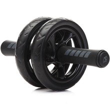 New Keep Fit Wheels No Noise Abdominal Wheel Ab Roller With Mat For Exercise Fitness Equipment(China)