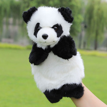 Baby Plush Toys Cute Cartoon Panda Hand Puppet Baby Kids Doll Plush Toy Hand Puppets Children Learning & Education Toys