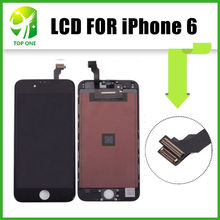 AAA++ OEM LCD Digitizer For iPhone 6 Front Screen Assembly Cracked Glass Free DHL Shipping(China)