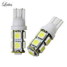 Leites 300pcs T10 194 168 W5W 5050 9 SMD High Power LED Light Led Signal Bulbs automotive led replacement light led smd 5050(China)