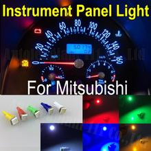 WLJH 25x Light 286 T5 Led White Red Green Yellow Blue SMD Car Dash bulb Speedo Dashboard Gauge Instrument Light For Mitsubishi