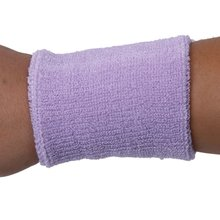 JEYL 1x Headband and 2x Elastic Wrist bands for Sports - Light Purple