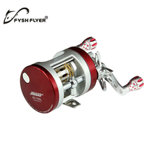 SEAHAWK-BC Light Al Alloy Body Cover ,One-Way Clutch Ball Bearing Fishing Reel,10+1BB,Red And Silver(China)
