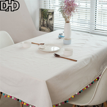 Plaid Tablecloth Striped Manteles Nappe Rectangulaire Table Cloth Rectangular Cotton Linen Blend Table Cover Tafelkleed