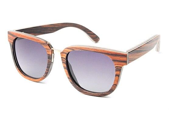 2017 New Fashion Wood Sunglasses Polarized Handmade Bamboo Sun Glasses Brand Designer Eyeglasses For Men Women  Ls2154<br><br>Aliexpress
