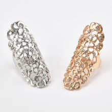 KAMEIER European Exaggerated hollow rings for women and fashion Carved rings for women as party lovely gift rings bulk