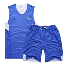 2017 Cheap Basketball Jersey Double-sided Jersey Basketball Reversible Sports Training Clothes Wholesale