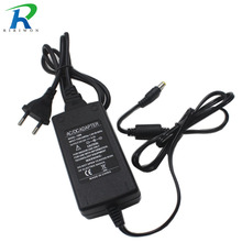 RiRi won 5.5mm x 2.5mm Plug DC 12V 6A 72W Power Supply Charger Adaptor For LED Strip Light CCTV Camera Charger(China)