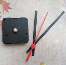 Quartz Clock Movement Sweep Quiet Spindle Mechanism Repair Kit + Plastic Hour Minute Second Hands(China)