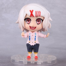 Anime Tokyo Ghoul Figure 10cm Q Version Juzo Suzuya / REI Cosplay PVC Action Figures Collectible Model Toys Doll With Box(China)