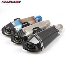 Universal Motorcycle Scooter exhaust Escape Pipe Muffler Pipe For KTM 200 250 390 690 990 125 Duke RC SMC / SMCR Enduro R RC8