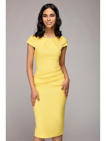Summer 2018 Dress Women Solid Slim dress Short Sleeve Office Business Dress Elegant Sheath Party Vestidos 2