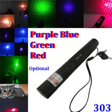 Burning match laser pen 303 50mw Powerful RED Violet Purple Blue Green Laser Pointer Pop Ballon Astronomy SDLaser Pointers Pens