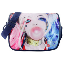 New Designs Dutch ACT Team Satchel Anime Haley Quinn Print Shoulder Bag Student Boy Girl Messenger Canvas Bags(China)